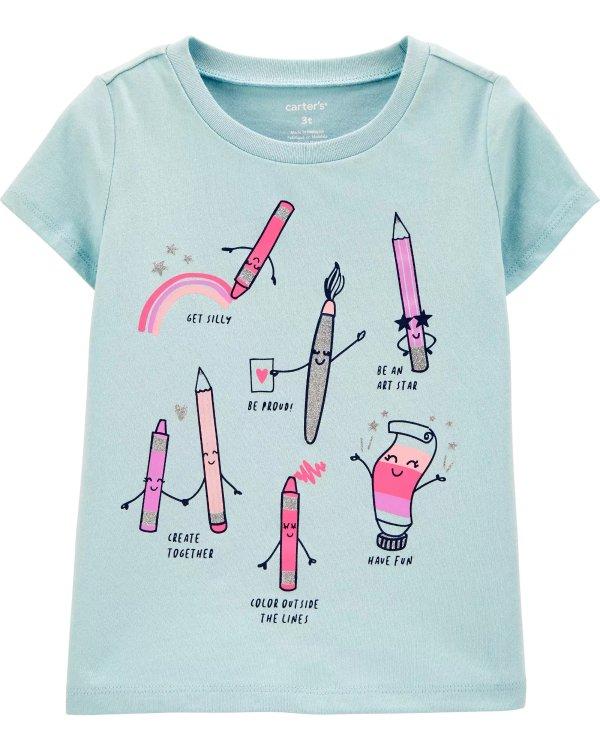 婴儿图案T恤