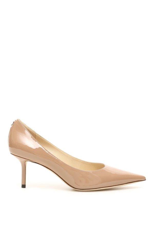 Love 65裸色高跟鞋
