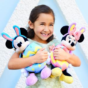 低至7.5折 上新复活节彩蛋米奇玩偶迪士尼官网 全场优惠 大量上新 玩具、行李箱、新款餐具也有