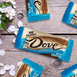 DOVE 100 Calories Milk Chocolate Candy 18-Count Box