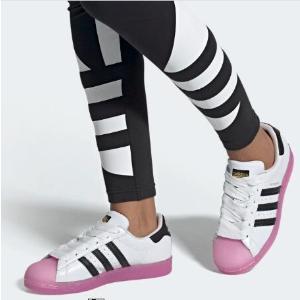 $120包邮上新:adidas Superstar 果冻贝壳头 经典与少女心的碰撞