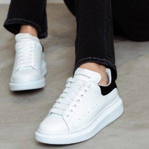 $428 (原价$650) 变相6.7折起Alexander McQueen 小白鞋超低定价 收经典黑尾、红尾