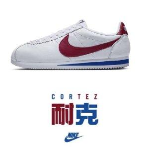 超模Bella Hadid同款Nike 全场5折起+折上75折 经典阿甘鞋€57.46