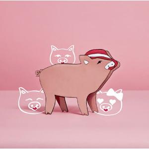 封面萌猪包$59Charles & Keith新年限定猪猪系列鞋包热卖
