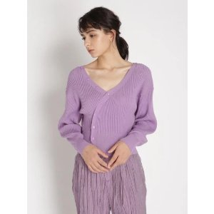 Snidel香芋紫针织衫