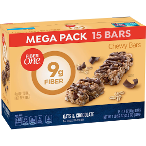 $6.76Fiber One Oats and Chocolate Bar, 15 Count