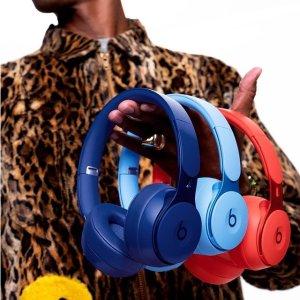 6.1折 €179(原价€292.35)Beats Solo Pro 神秘蓝无线降噪耳机大促 享受极致降噪