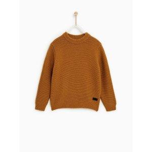 Zara男童针织毛衣