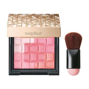 2盒直邮美国到手价 $60.8资生堂 Maquillage 心机美人 5色 立体高光 修容腮红 2色可选