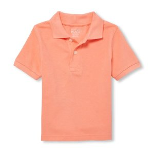 The Children's PlaceBaby And Toddler Boys Short Sleeve Pique Polo