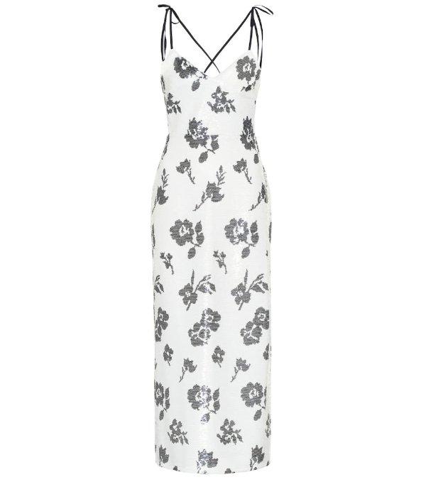 花纹连衣裙