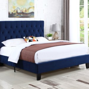 HouzzEmerald Home Amelia Upholstered Bed Kit - Transitional - Platform Beds - by Emerald Home