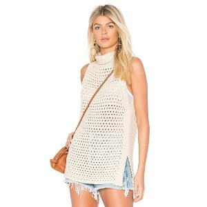 Free People Northern Lights Vest in Ivory from Revolve.com
