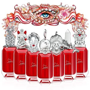 7个味道7种不同瓶身设计CL萝卜丁 限量香水发售 口红届王者带你走进香水的奇幻之旅
