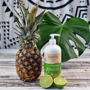 €3就收洗发皂!天然有机Sante Naturkosmetik 洗发皂、沐浴露 菠萝青柠、芦荟芒果多种味道