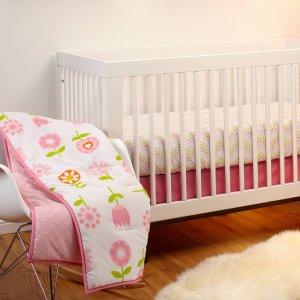 白菜价:Nojo 婴儿被子+床单等床品三件套