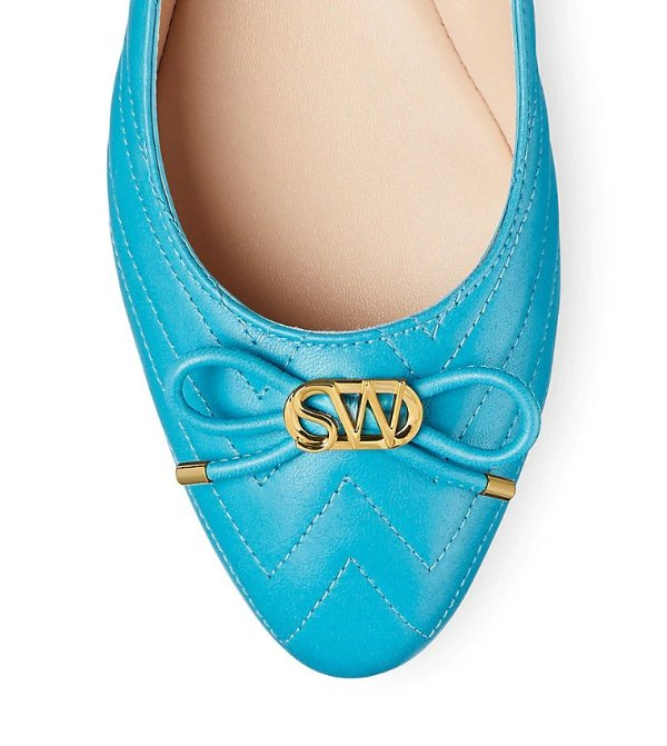 HILLIA 蝴蝶结芭蕾平底鞋