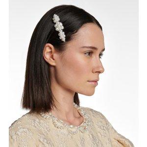 Simone Rocha珍珠和水晶发夹