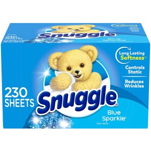 Snuggle Fabric Softener Dryer Sheets 200 Count