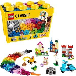 7.7折 €33.93(原价€43.86)LEGO 10698 经典创意大号积木盒 790片