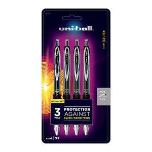 uni-ball 207 Retractable Fraud Prevention Gel Pens