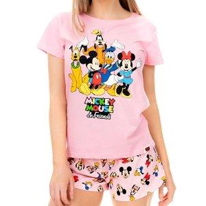 $30.95Disney 米老鼠和米老鼠的朋友们 女生款睡衣套装