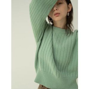 均码薄荷绿毛衣
