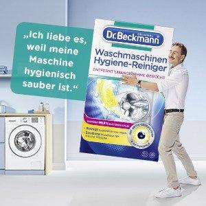 折后€2.21 定期为TA洗个澡Dr. Beckmann 洗衣机深层清洁剂 适用于所有款式洗衣机