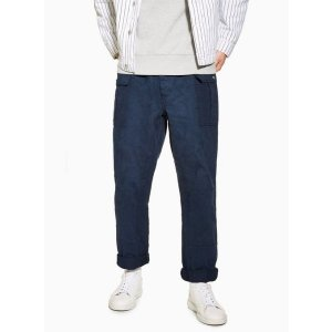 TopmanNavy Cargo Original Pants