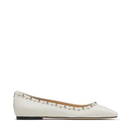 MIRELE 铆钉平底鞋