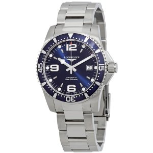 EXTRA $25 OFF LONGINES HydroConquest Automatic Blue Dial Men's Watches L37424966 L37424566