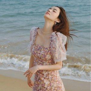 4折起+叠9折 €83收封面同款W Concept 夏季风尚专场 仙女碎花裙、小衬衣参与