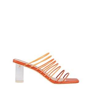 Rejina PyoZoe Strappy Leather Sandals