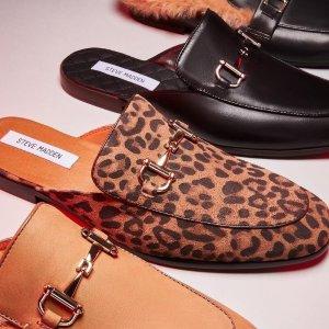 低至5折Steve Madden 美鞋热卖 封面穆勒鞋$79,平替H拖$39