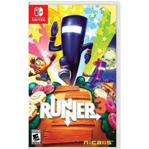 $33.30(原价$54.99)《Runner3》像素跑者3 跟着音乐节奏 疯狂奔跑吧