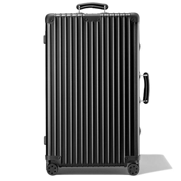 Classic Trunk 大号铝镁合金行李箱 | 黑色 | 日默瓦