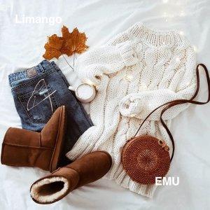 低至4.2折!€39就收豆豆鞋EMU 澳大利亚雪地靴 时尚又保暖 过冬必备单品