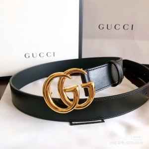 Gucci两色可选!50cm/60cm/70cm经典双G腰带