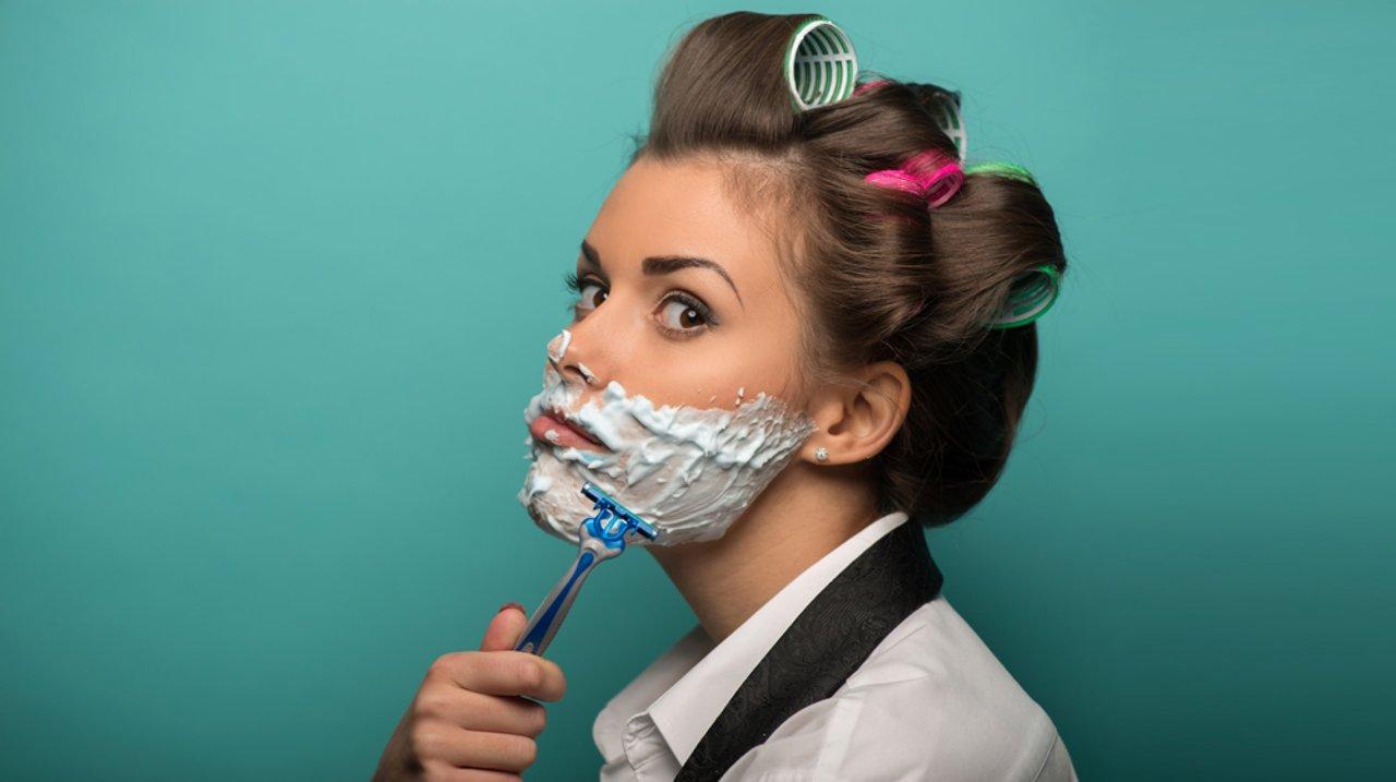 """怕不怕刮""""小胡子""""刮成男人婆?「唇毛消除大全」值得收藏!"""