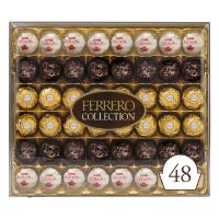 费列罗 榛果牛奶巧克力48粒装 七夕礼盒