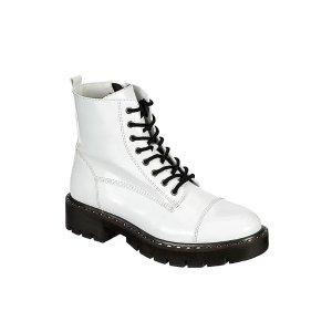 Buy 1 Get 1WHITE XAPPEAL Womens Charli Combat Boot