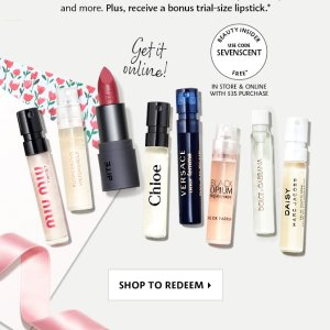 7-pc GiftWith $35 Purchase @ Sephora.com