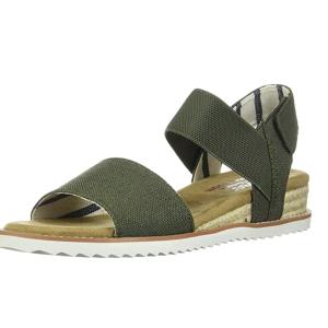 $26.39起(原价$85)Skechers 斯凯奇 女士坡跟休闲凉鞋 US7.5码