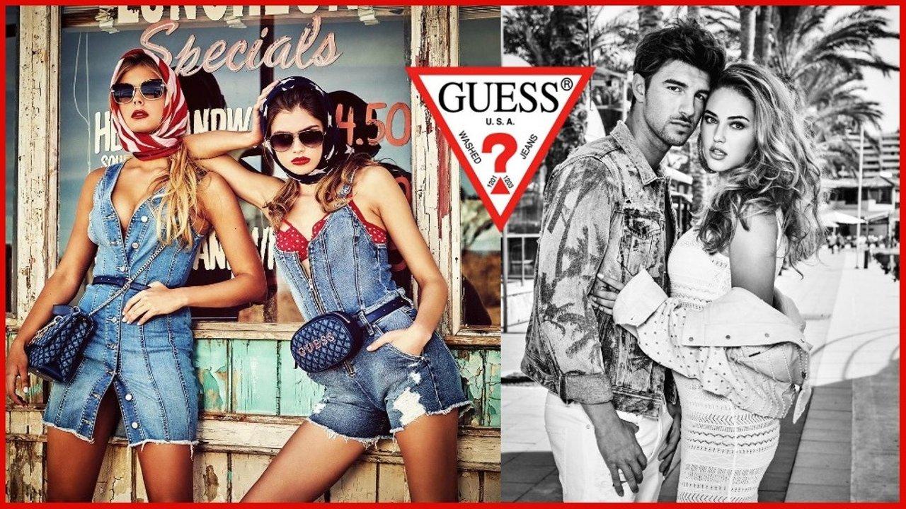 美国最经典牛仔品牌的逆袭:这样复古时髦又潮流百变的GUESS,你一定没有见过