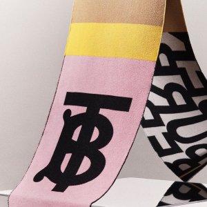 额外减$40 $240起独家:Burberry 围巾专场 热销款全参加