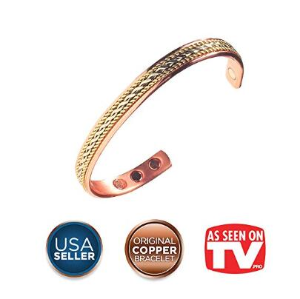 Earth Therapy The Original Pure Copper Magnetic Healing Bracelet