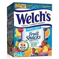 Welch's 水果软糖混合味 80包 4.5LB