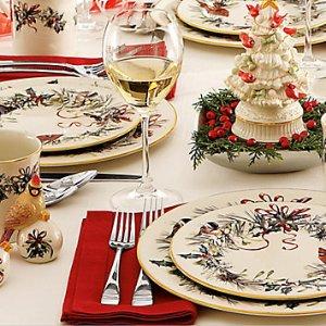 满$75享7.5折Lenox 精选圣诞主题餐具、装饰品节后促销