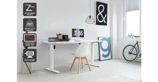 电动升降式工作桌