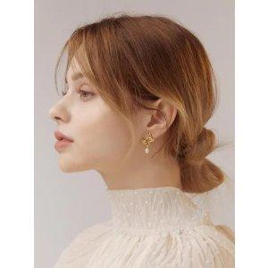 5折起 爱心耳环£37W Concept 少女风珍珠、巴洛克风首饰大促